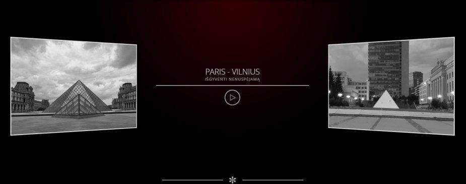 Paris-Vilnius. Išgyventi nenuspėjamą