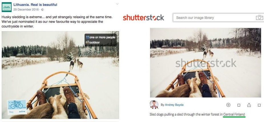 """""""Lietuvišką"""" žiemą Turizmo departamento finansuojamas projektas reklamuoja su nuotrauka iš Suomijos – ir tai tik vienas daugelio pavyzdžių"""
