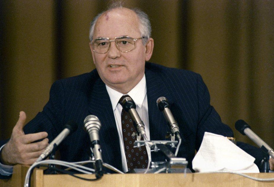 """Scanpix""/""RIA Novosti"" nuotr./Michailas Gorbačiovas"