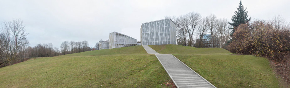 """Pirmoji vieta – ispanijos architektų """"Arquivio architects"""" projektas"""