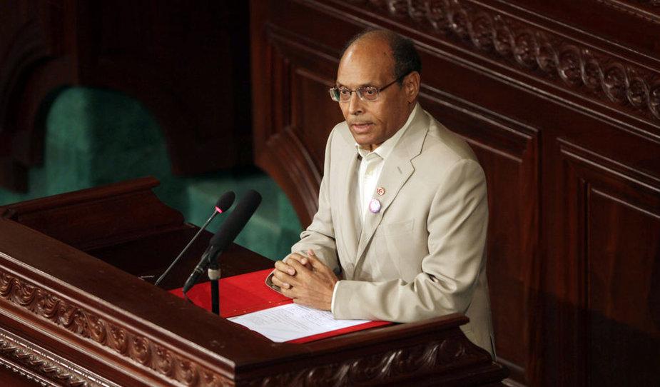 Tuniso prezidentas Moncefas Marzouki
