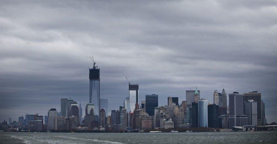 Niujorkas prieš audrą