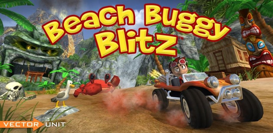 "Žaidimas ""Beach Buggy Blitz"""