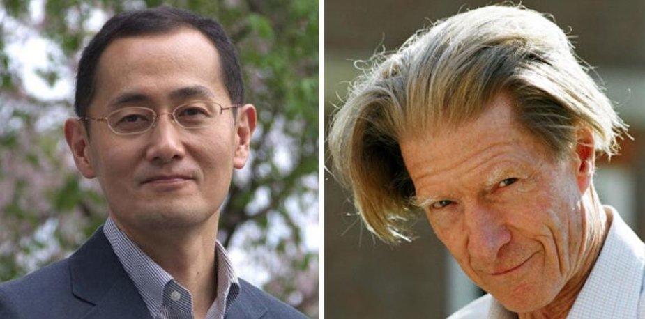 Nobelio medicinos premija skirta japonui Shinyai Yamanakai (k.) ir britui Johnui Gurdonui.