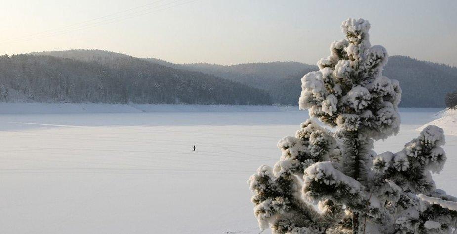 Žiema Krasnojarske