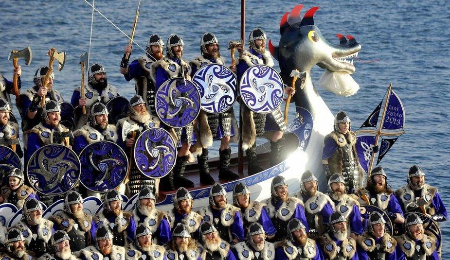 Vikingų festivalio akimirka
