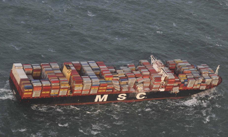 """Laivas """"MSC Zoe"""""""