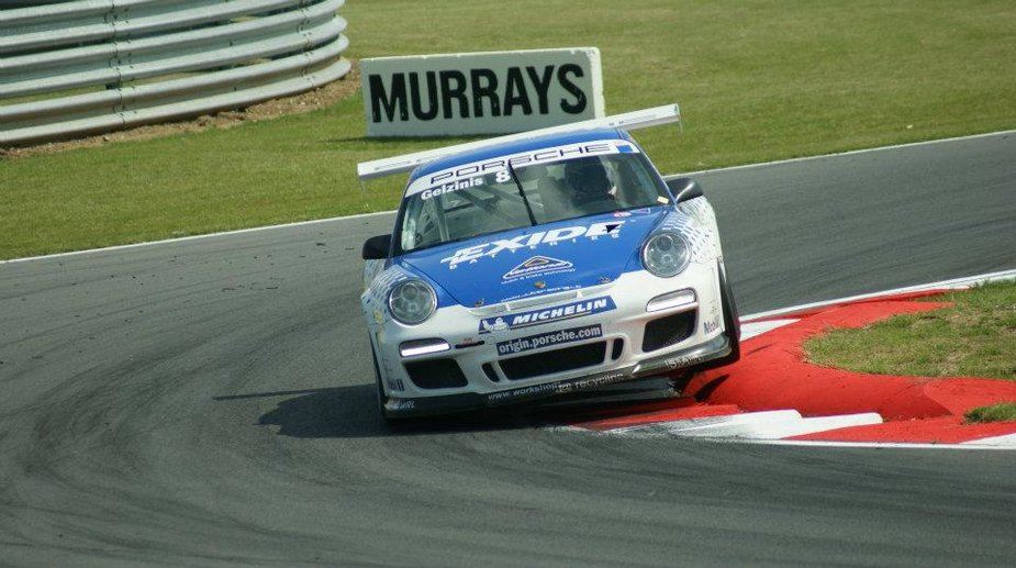 """Porsche Carrera Cup"" lenktynės Snetertono trasoje"