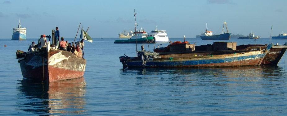 Zanzibaras. Dienos pradžia