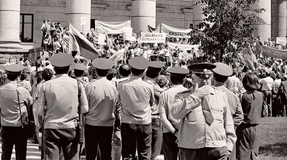 Sąjūdžio mitingas, 1988 m.