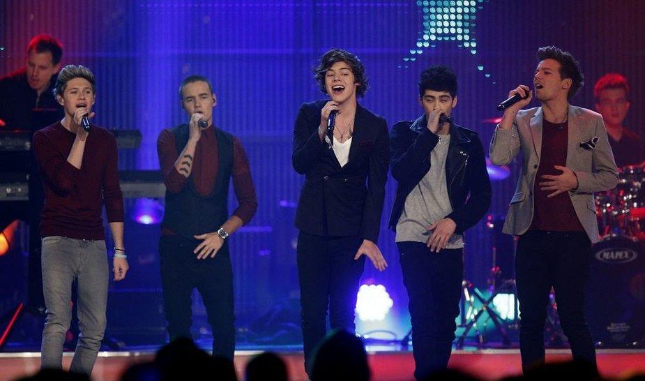 """""""One Direction"""" pasirodymas"""