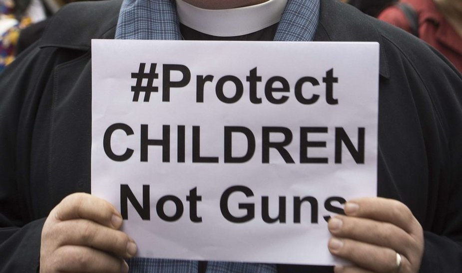 Protestas prieš ginklų laikymo įstatymus JAV