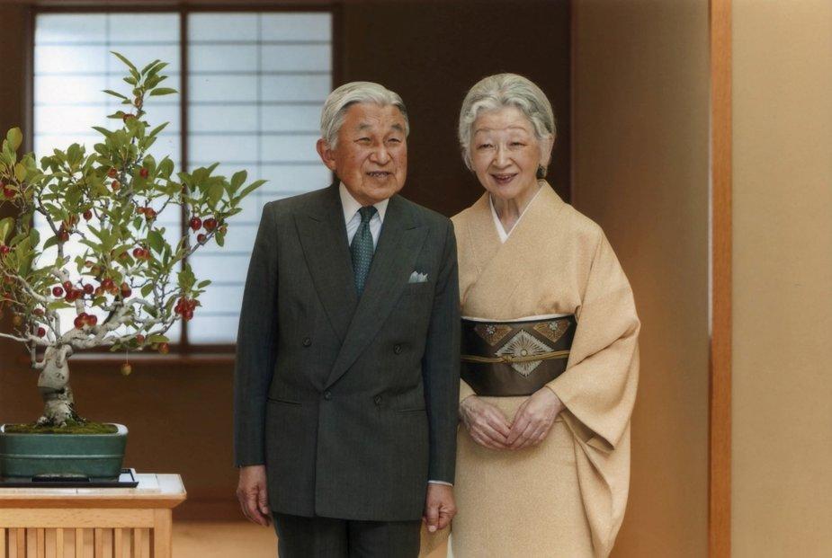 """Reuters""/""Scanpix"" nuotr./Japonijos imperatorius Akihito"