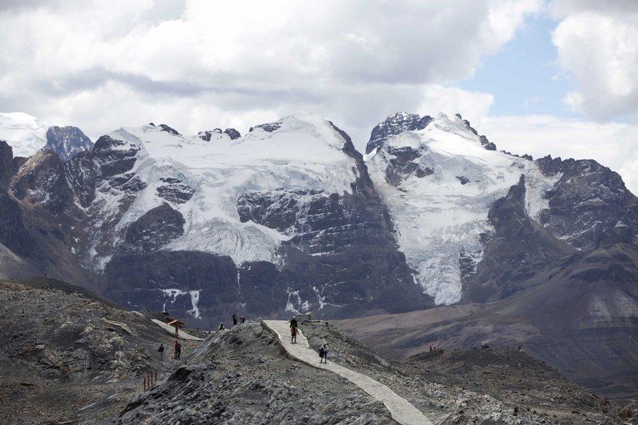 """""""Scanpix""""/AP nuotr./Tirpstantys ledynai Peru"""