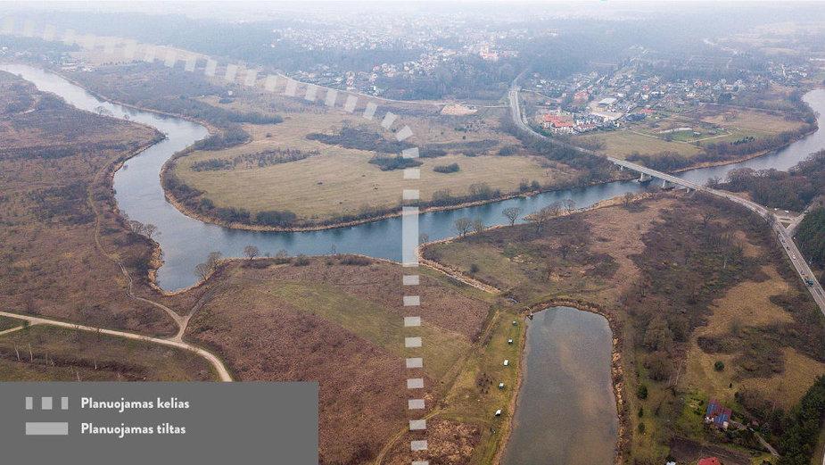 Kauno miesto valdžia planuoja tiesti Raudondvario aplinkkelį