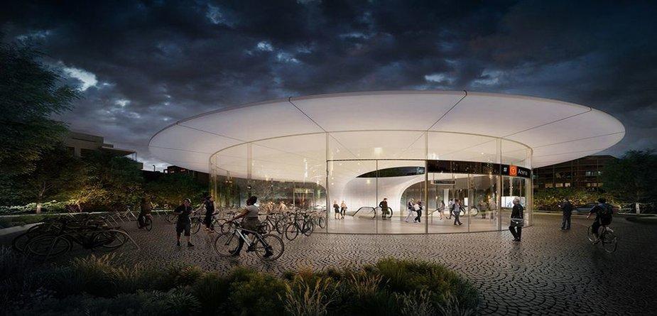 Osle planuojama statyti naujas metro stotis
