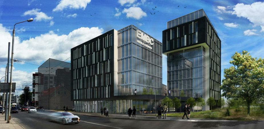 """""""Eigesa"""" Naujamiestyje statys biurų pastatą"""