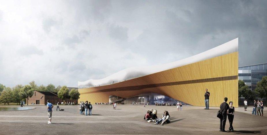 Helsinkyje kyla nauja biblioteka
