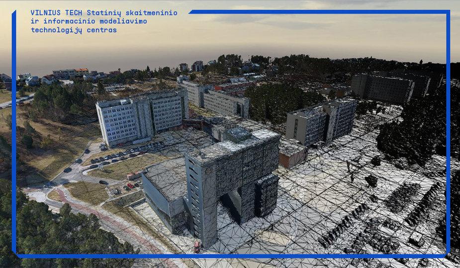 VILNIUS TECH išmanusis skaitmeninis miestelis Saulėtekyje