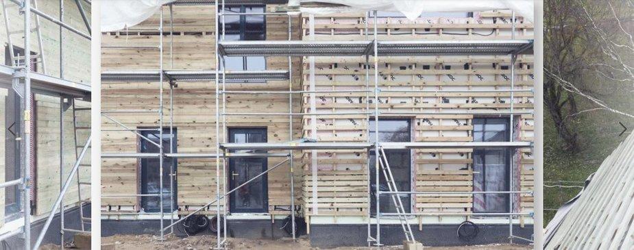 """Bendrovės """"Citus"""" nuotr./ Tvaraus namo statybos"""
