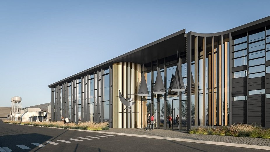 New SBA factory, a visualisation.  Image SBA