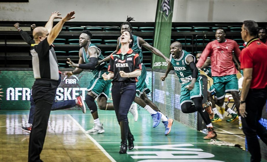 Kenijos vyrų krepšinio rinktinės trenerė Liz Mills