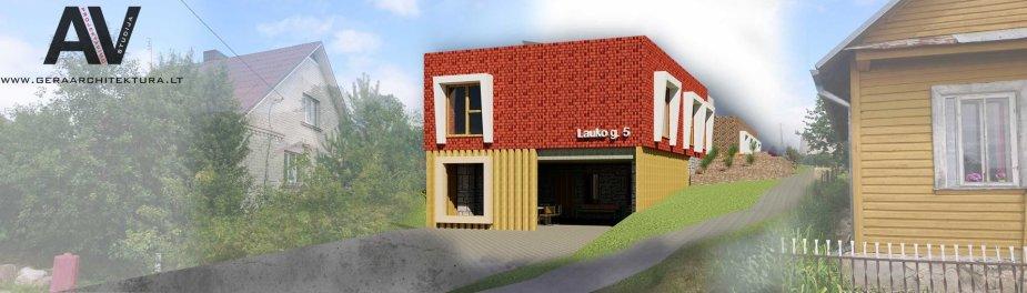 Būsimieji bendrojo gyvenimo namai Žiežmariuose