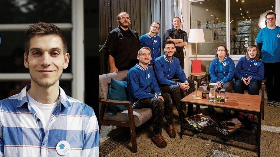 Timas van Wijkas ir jo įkurto restorano komanda