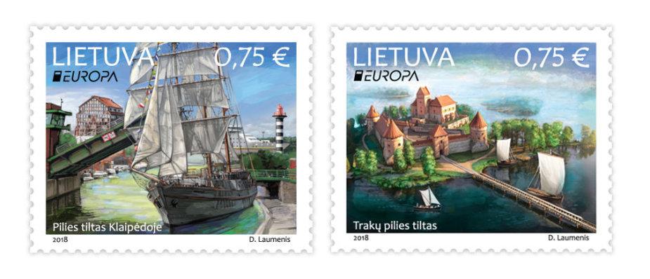 """Pašto ženklų serija """"Europa"""""""