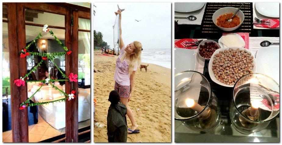 Rūtos Mikelkevičiūtės Kūčios Šri Lankoje