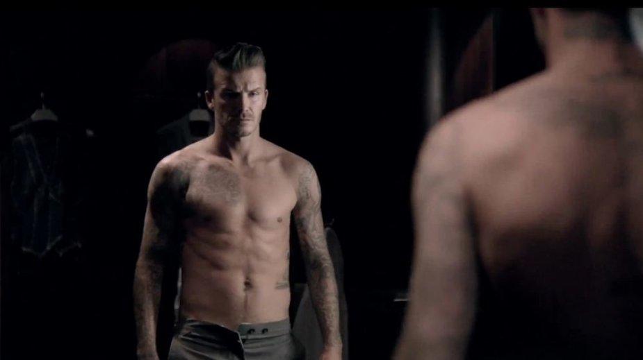 Davidas Beckhamas kvepalų reklamoje