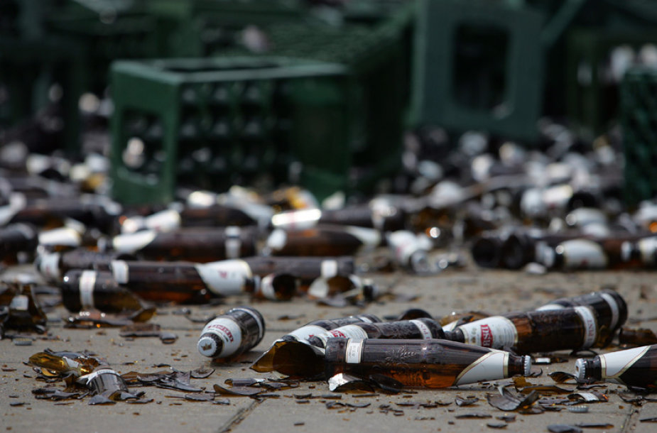 Kauno gatvėse liejosi alus