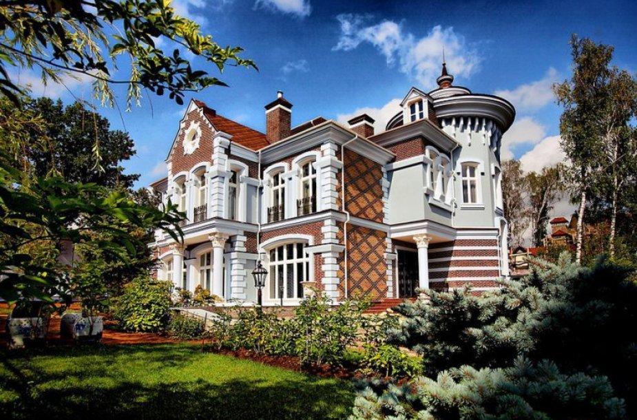 Prabangus namas Rubliovkoje