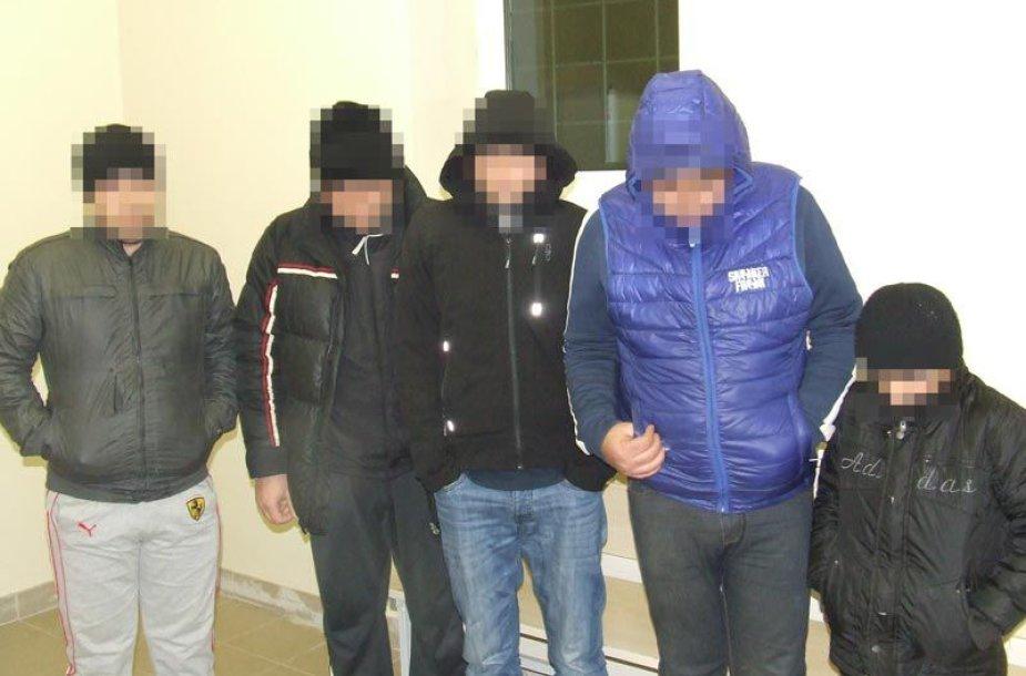 Padvarionyse sulaikyti nelegalūs migrantai