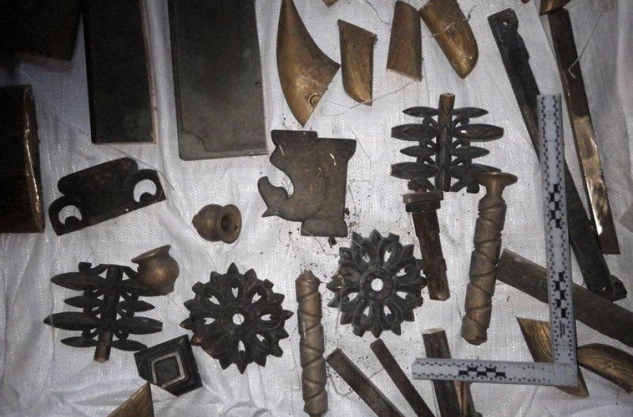 Įkalčiai metalo vagystės byloje
