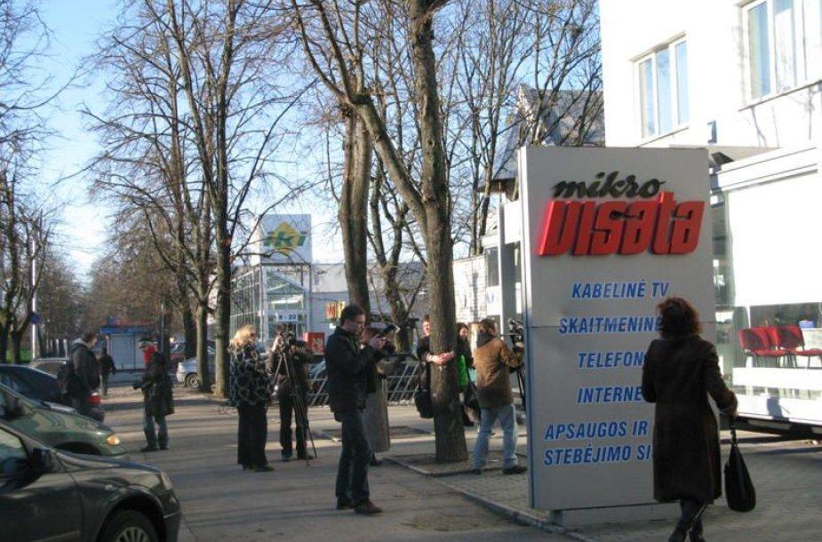 "Protestas prie bendrovės ""Mikrovisata"""
