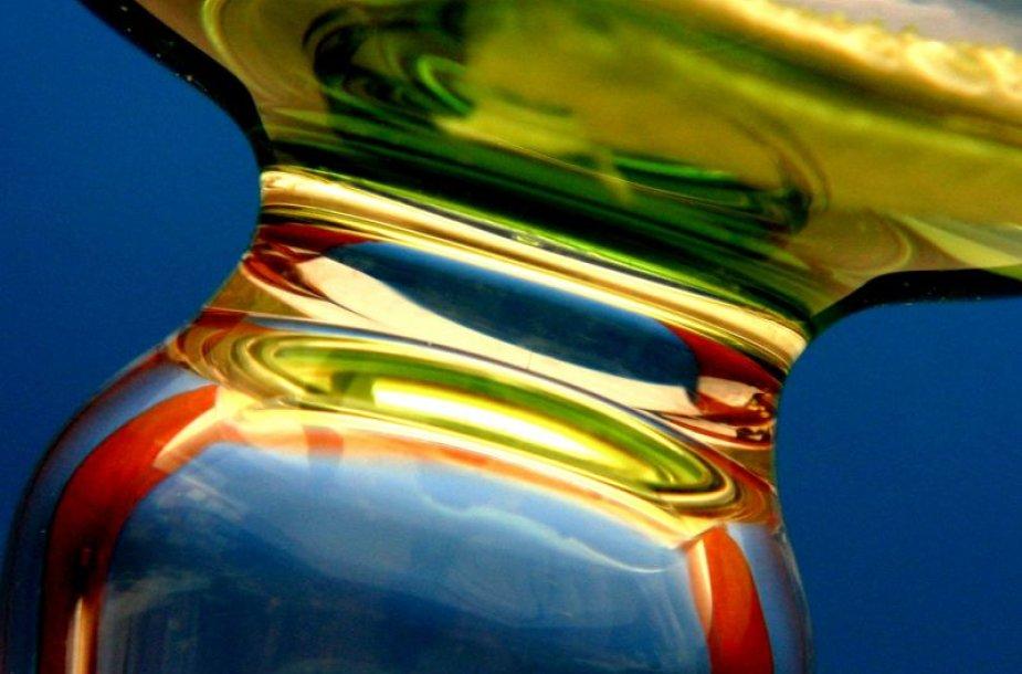 Panevėžyje atidengta stiklo mozaika.