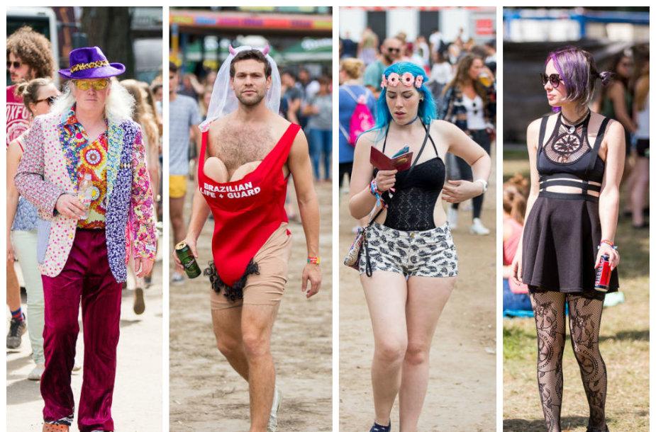 """Vengrijos festivalio """"Sziget"""" svečių stilius"""