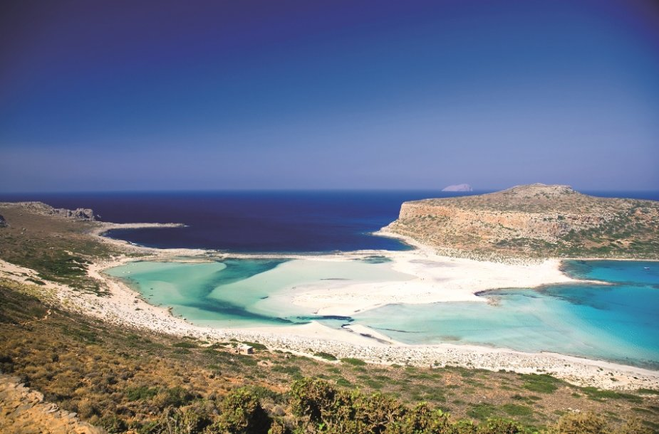 Mėlynoji lagūna Kretoje