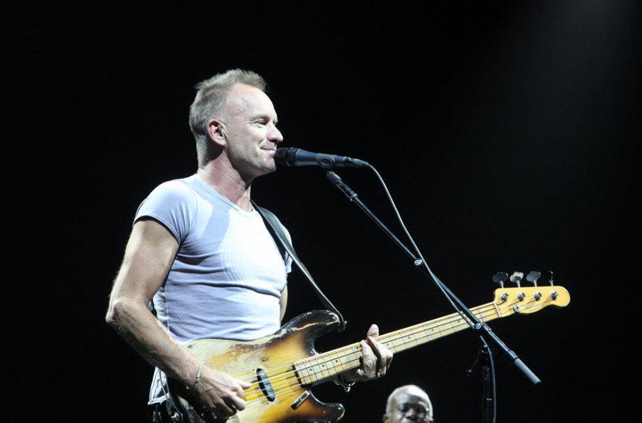 Stingas Lietuvoje koncertavo jau penktą kartą