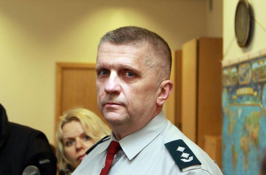 Vilniaus kelių policijos vadovas Vytautas Černevičius