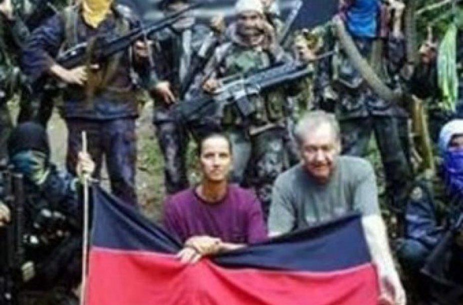 Įkaitais paimti vokiečiai Stefanas Okonekas ir Henrike Dielen