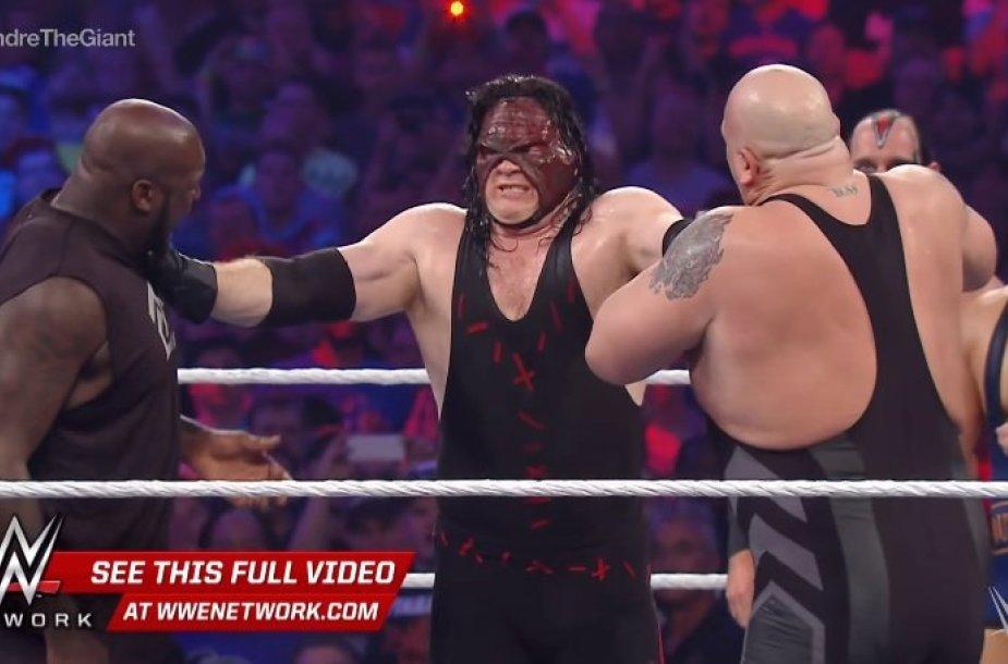 Shaqas WWE ringe