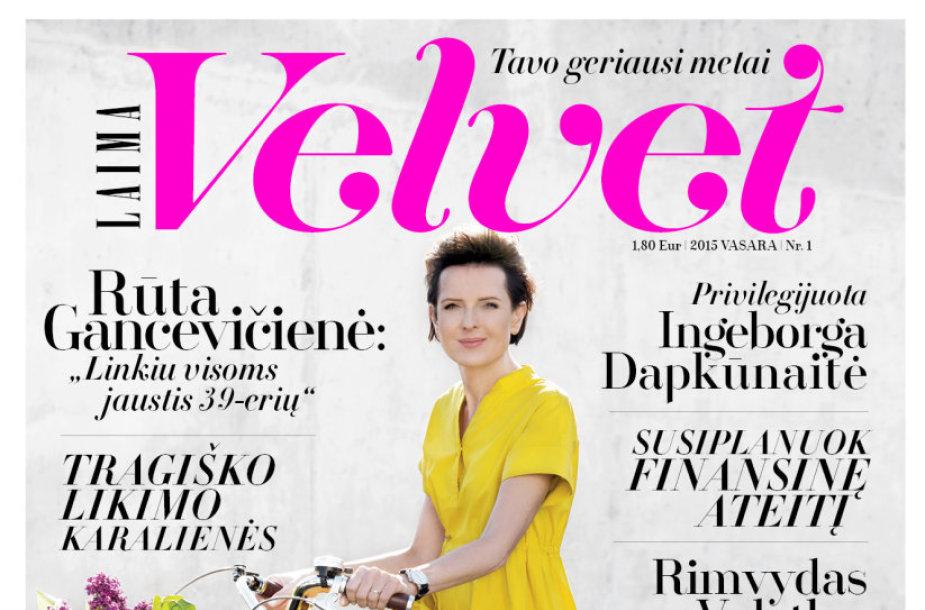 """Žurnalo """"LAIMA Velvet"""" viršelis"""