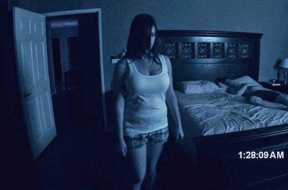 """Kadras iš filmo """"Paranormalūs reiškiniai"""""""