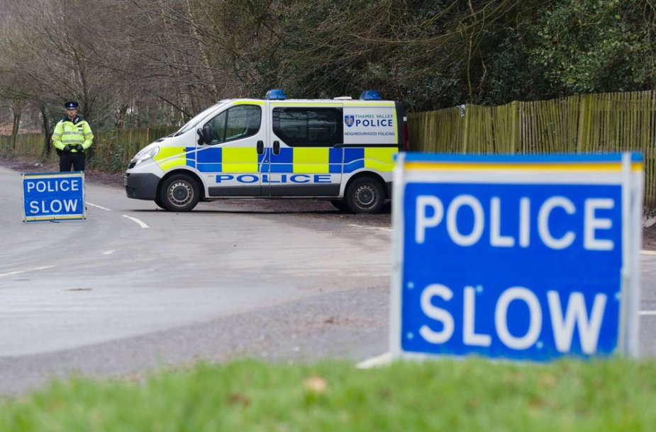 Britų policija
