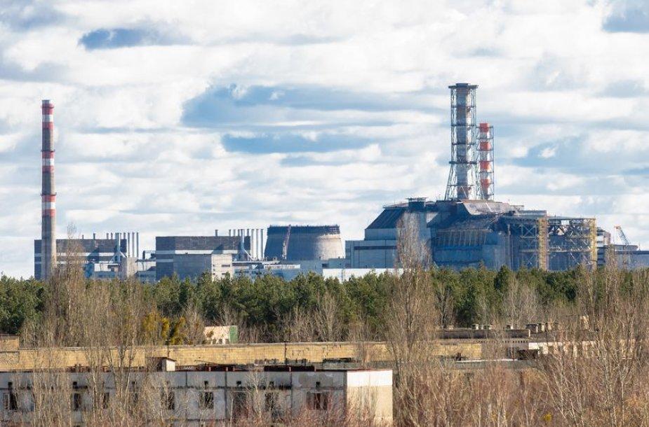 Pripetė tapo aplestu miestu po Černobilio atominės elektrinės sprogimo