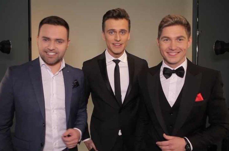 """""""Eurovizijos"""" vedėjai"""