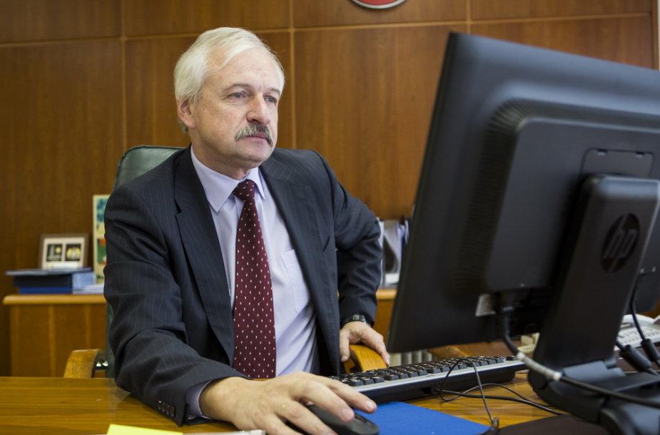 Ūkio ministras Evaldas Gustas