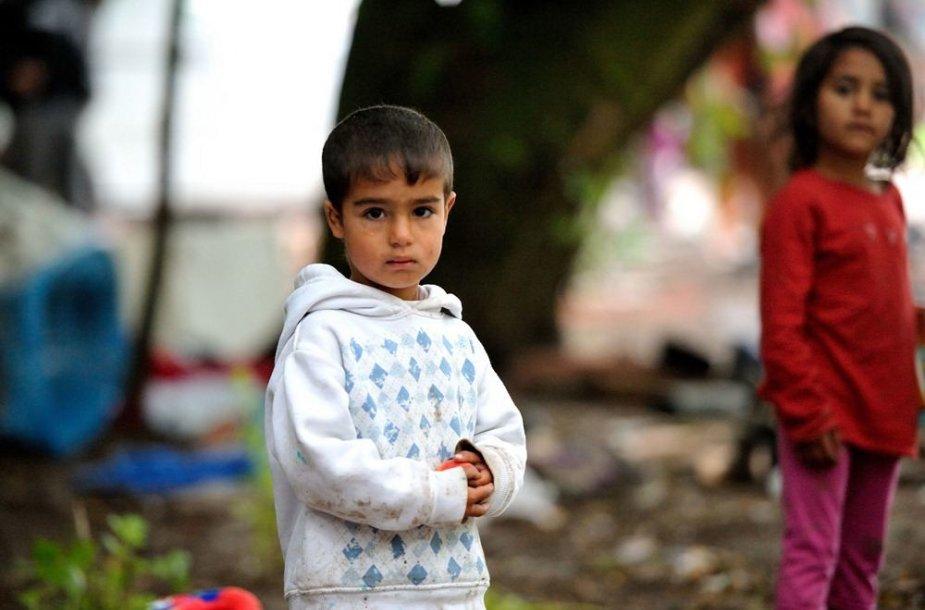 Prancūzijoje iškeldinami romai